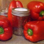 Making Canned Food--Re Peppers