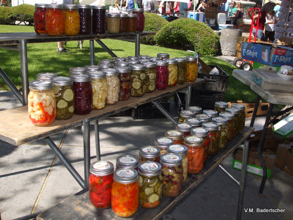 Preserves at farmer's Market