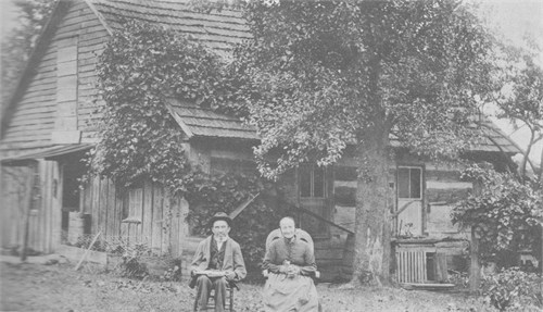 Swiss Immigrants Frederick and Mary Badertscher