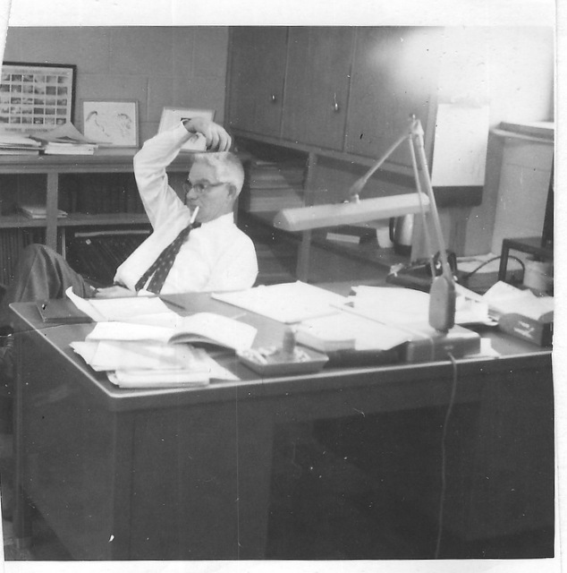 Paul Kaser at work 1963