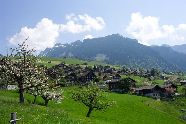 Swiss Immigrants came from Sigriswil