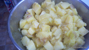 potato salad chopped