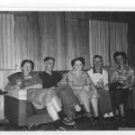Cabin at Lake Hope State Park, Ohio 1953