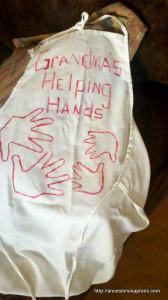 Home Made Grandma apron