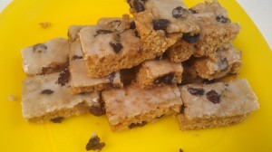 Rhema's Raisin Bars
