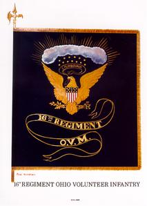 Civil War Regimental Flag
