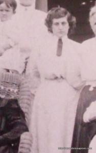 wife of cousin Errett Allison