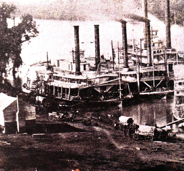 Civil War Steamship