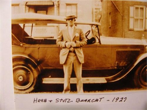 Herbert Anderson and Stutz Car