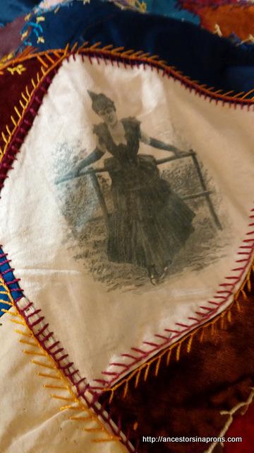 Sarah Stout - crazy quilt