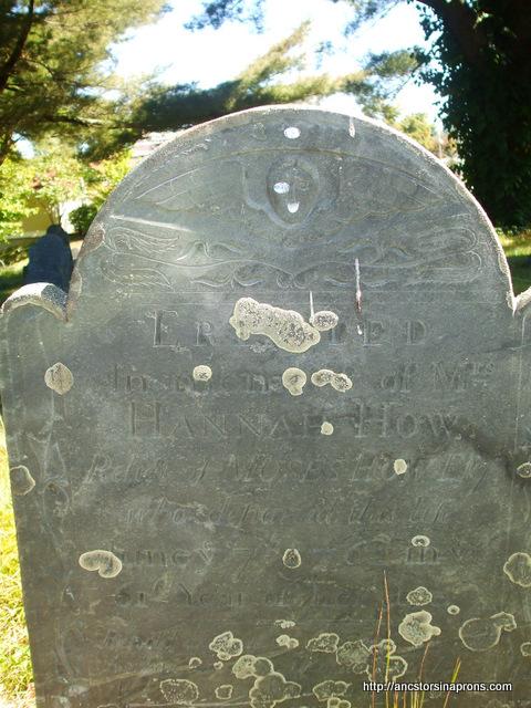 Hannah Howe, widow of Moses