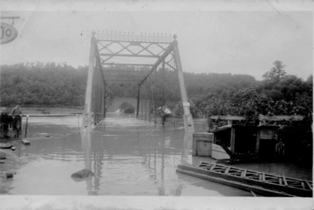 Killbuck Bridge flood