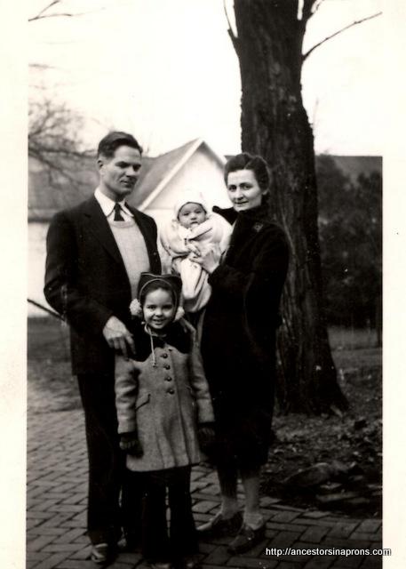 Paul Kaser famil, 1944