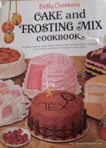 Betty Crocker Cake Book Cover