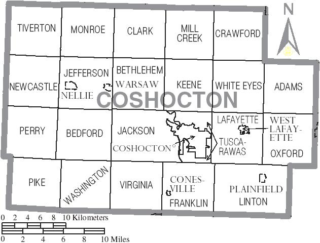 Coshocton County Ohio