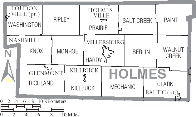 Homes County Ohio