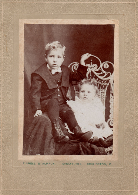 Keith Kaser and Irene Kaser 1898