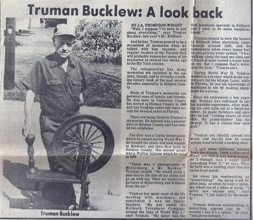 Truman Bucklew article