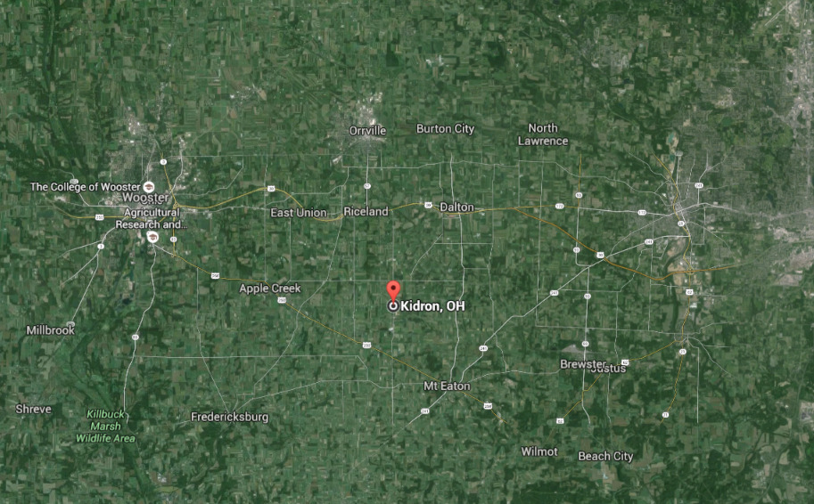 Kidron Ohio
