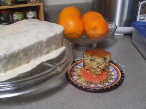 Colonial Recipe: Orange Cake