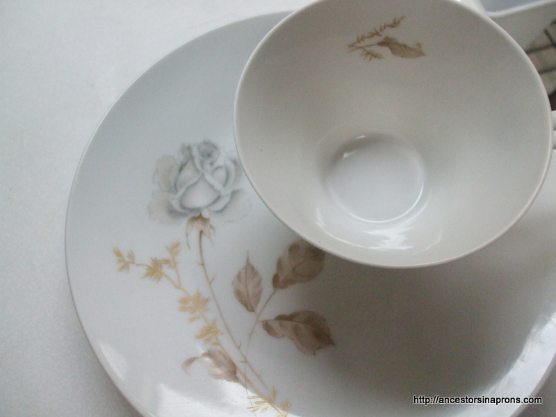 Heirloom china Forest Rose