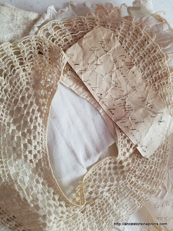 lace collar by Mary Morgan