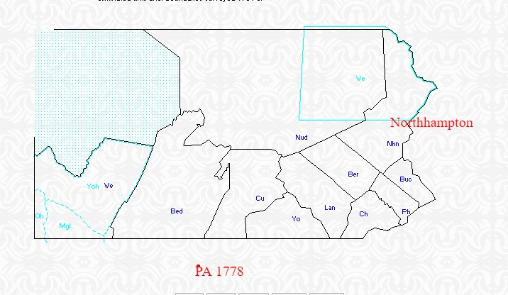 1779 PA Counties