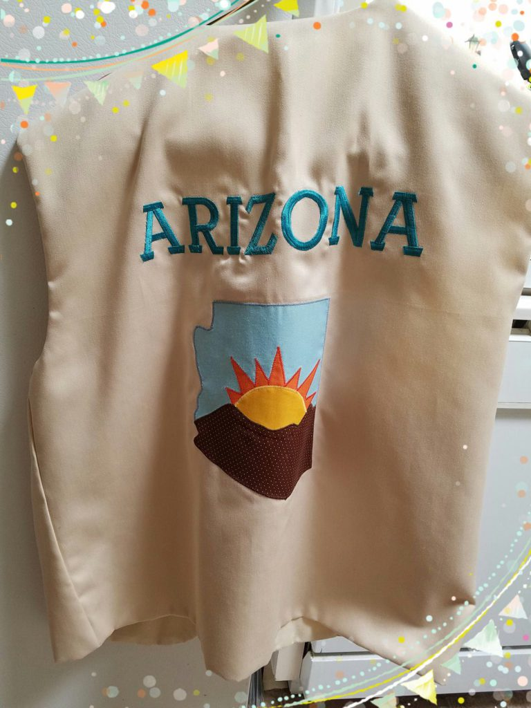 Political Convention vest