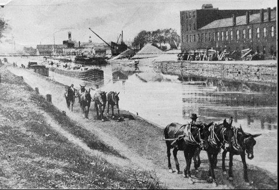 Erie Canal, Ohio
