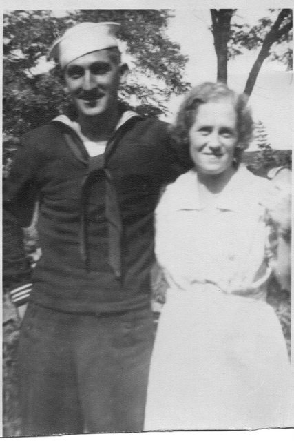 Bill and Sarah Anderson 1942 or 1943