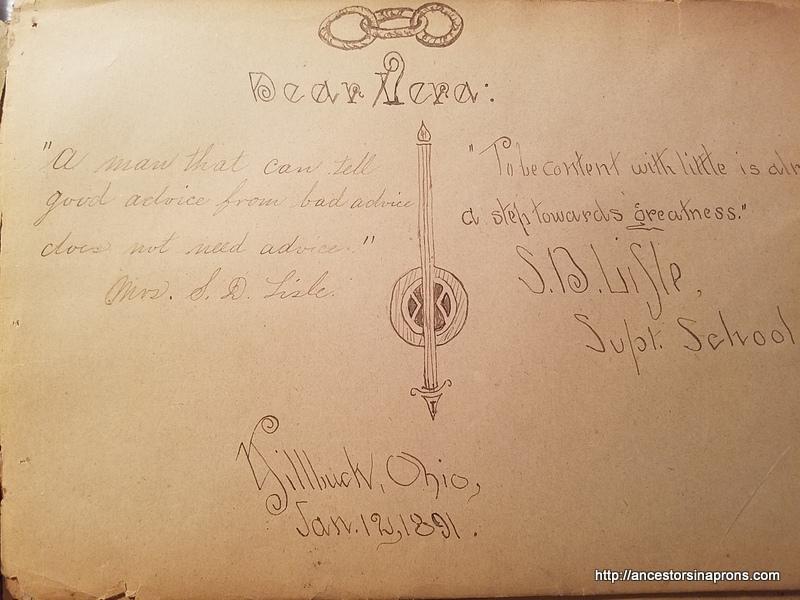 Autograph book adult signature