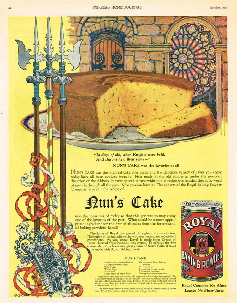Nun's Cake