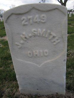 John Henry Smith gravestone
