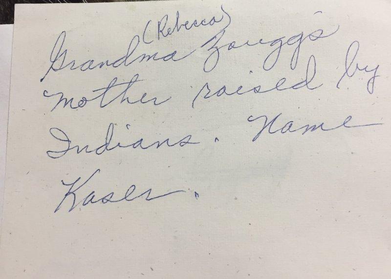 Susan Kaser note