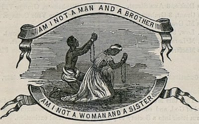 Am I Not a Man and a Brother, Am I not a Woman and a Sister logo